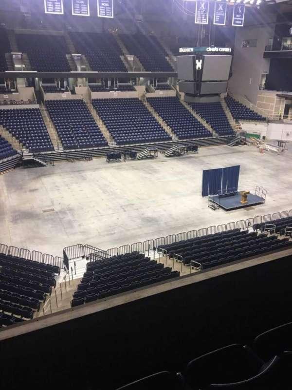 Cintas Center, section: 208, row: C, seat: 8