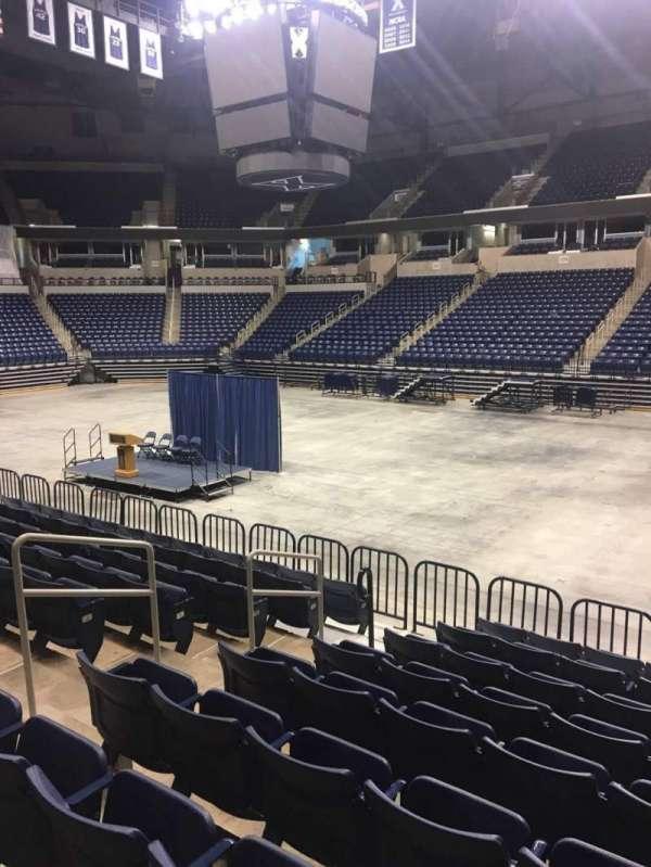 Cintas Center, section: 114, row: N, seat: 7