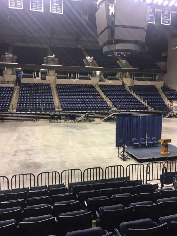 Cintas Center, section: 108, row: N, seat: 7
