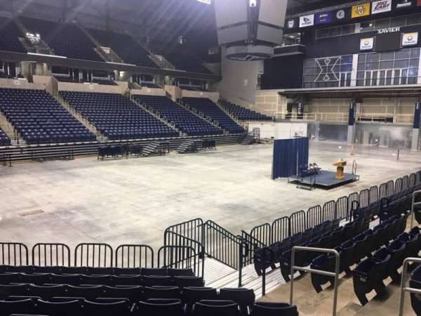 Cintas Center, section: 104, row: N, seat: 8