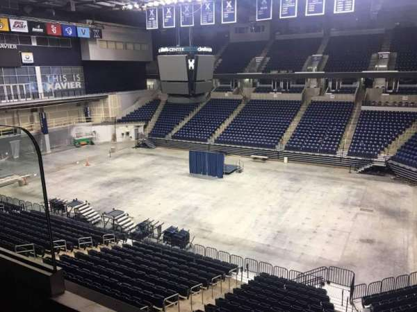 Cintas Center, section: 207, row: B, seat: 6