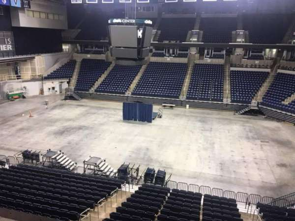 Cintas Center, section: 209, row: B, seat: 7