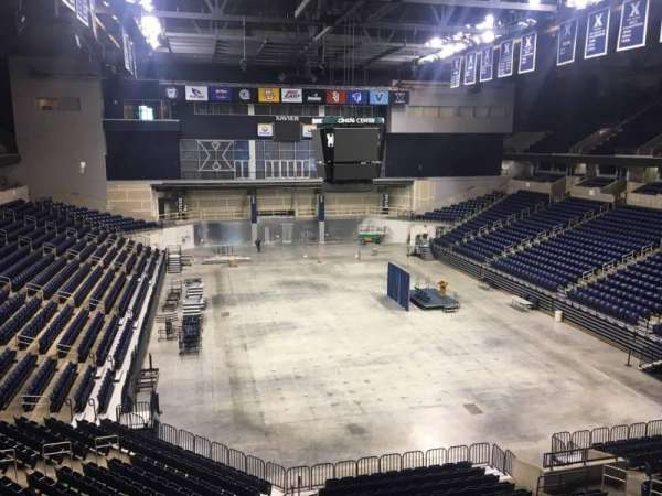 Cintas Center, section: 201, row: B, seat: 7