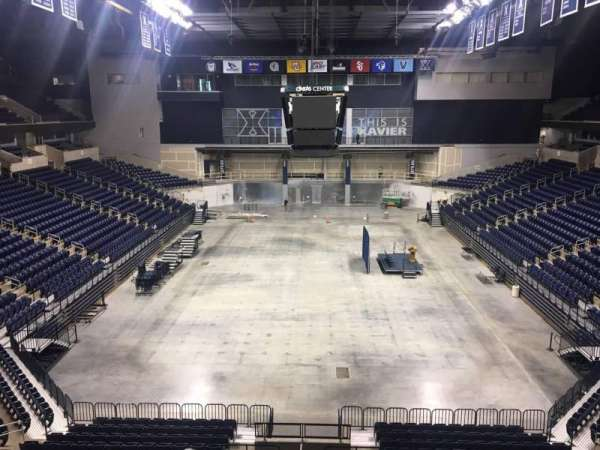 Cintas Center, section: 200, row: B, seat: 7