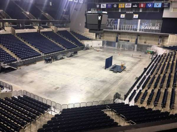 Cintas Center, section: 204, row: B, seat: 7