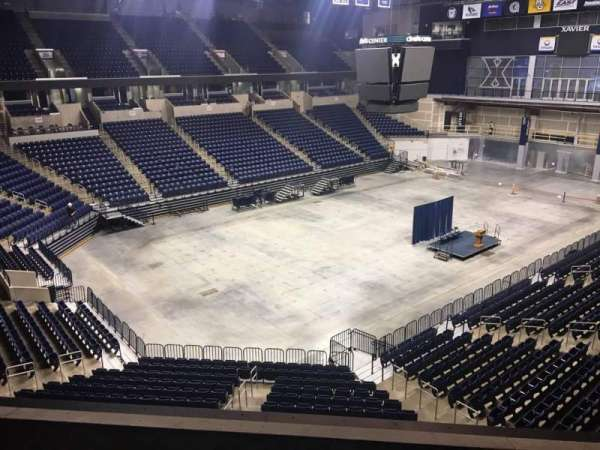Cintas Center, section: 206, row: B, seat: 7