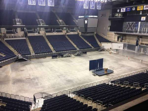 Cintas Center, section: 208, row: B, seat: 7