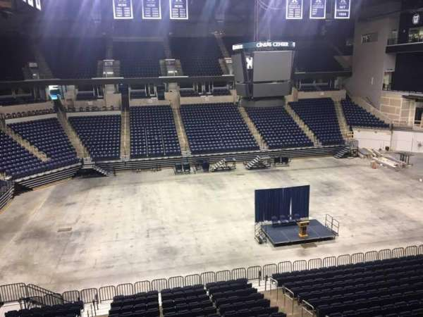 Cintas Center, section: 210, row: B, seat: 7
