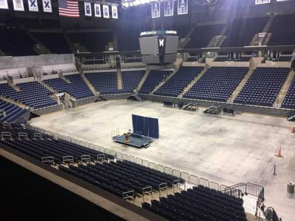 Cintas Center, section: 216, row: B, seat: 7