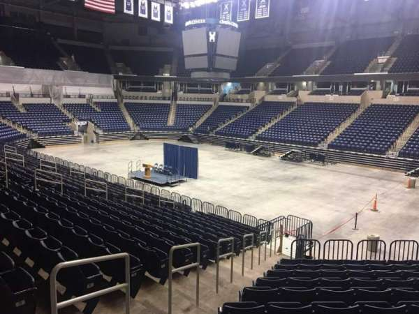 Cintas Center, section: 116, row: V, seat: 3