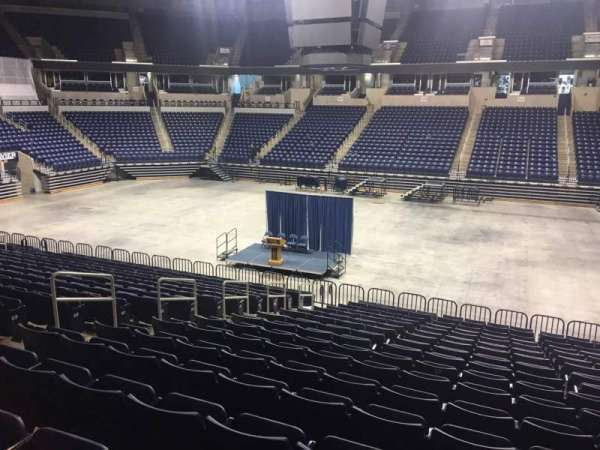 Cintas Center, section: 112, row: V, seat: 3