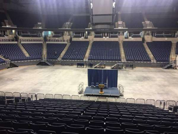 Cintas Center, section: 110, row: V, seat: 5