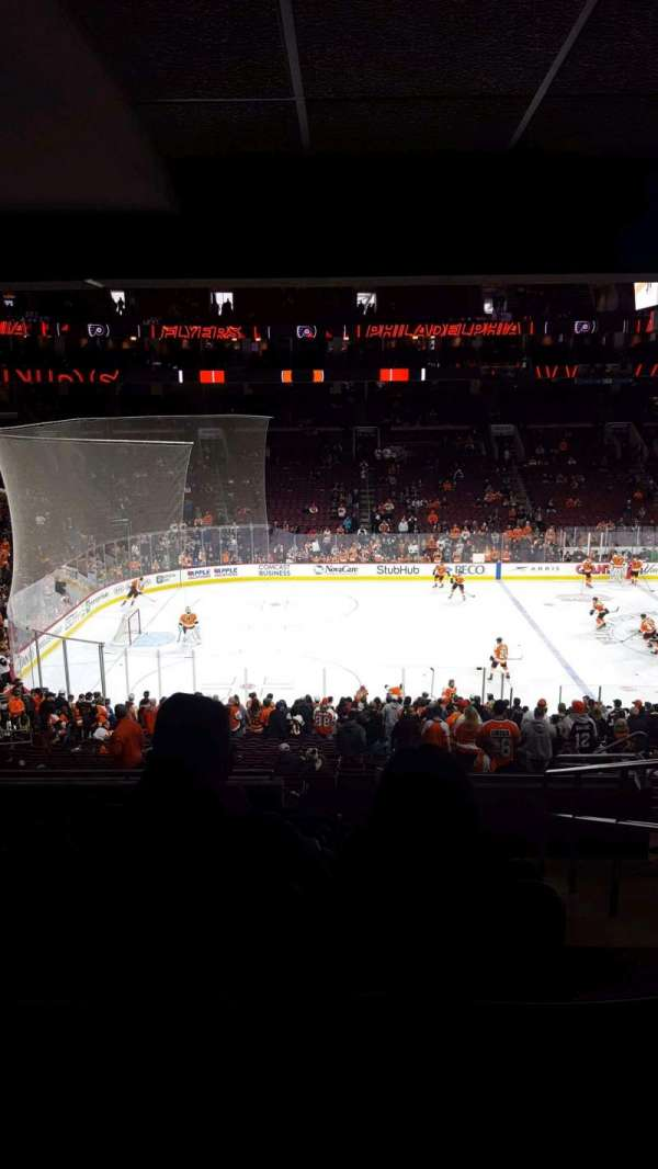 Wells Fargo Center, section: CB23, row: 1, seat: 14