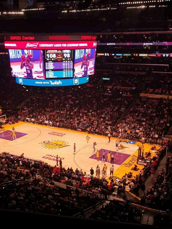 Staples Center, section: Suite C5, row: GA, seat: 3