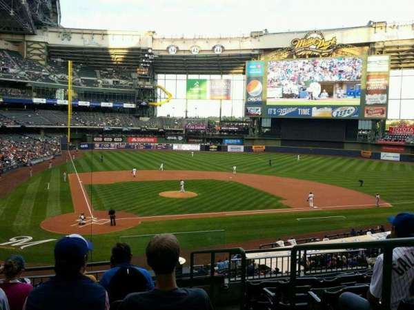 Miller Park, section: 216, row: 7, seat: 14