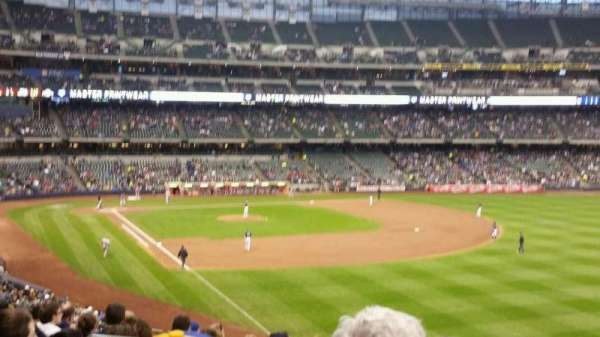 Miller Park, section: 206, row: 11, seat: 5