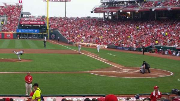 Great American Ball Park, section: 118, row: Z, seat: 14