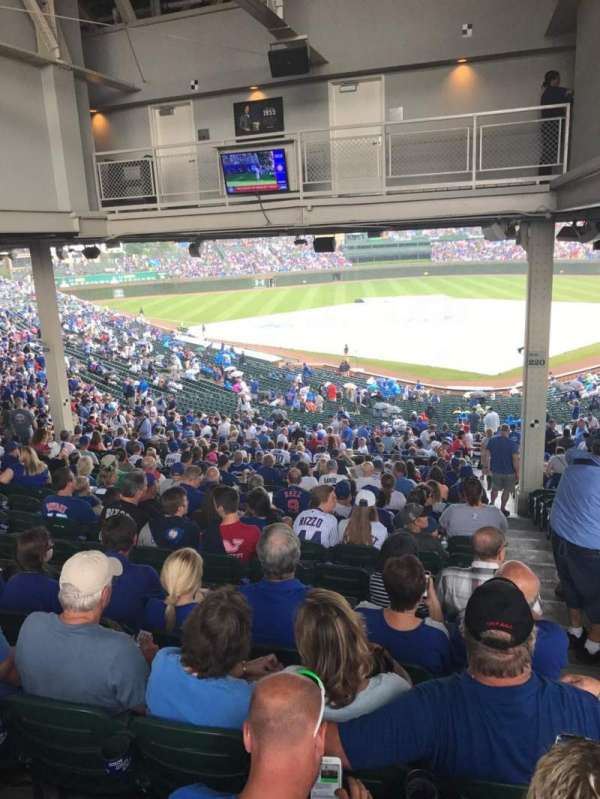 Wrigley Field, section: 216, row: 21, seat: 27