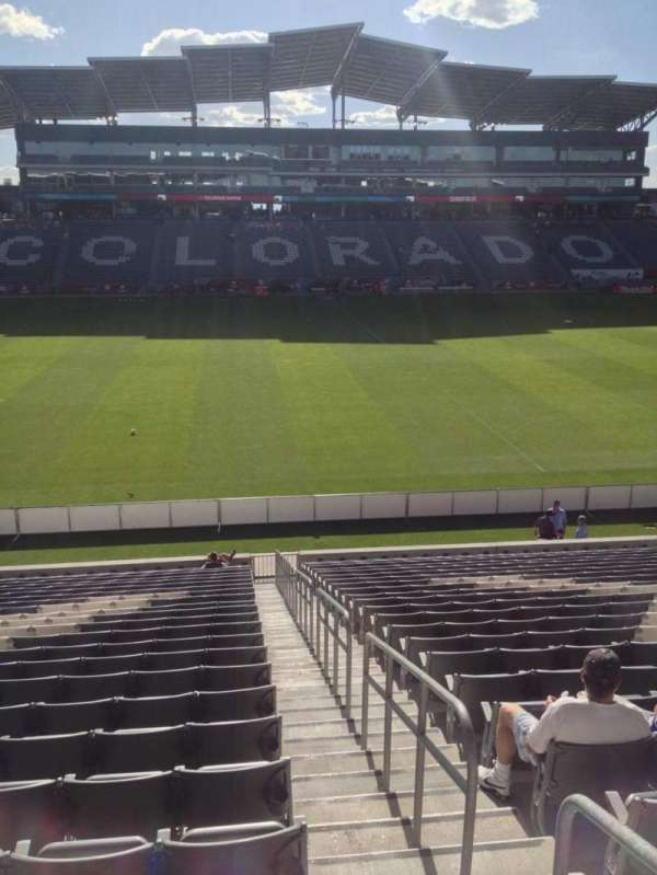 Dick's Sporting Goods Park, section: 108, row: 24, seat: 1