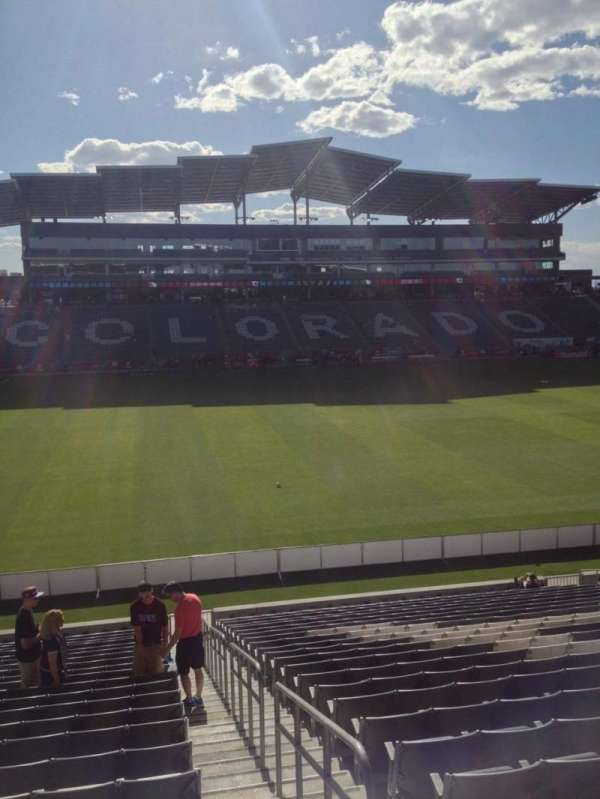 Dick's Sporting Goods Park, section: 109, row: 24, seat: 1