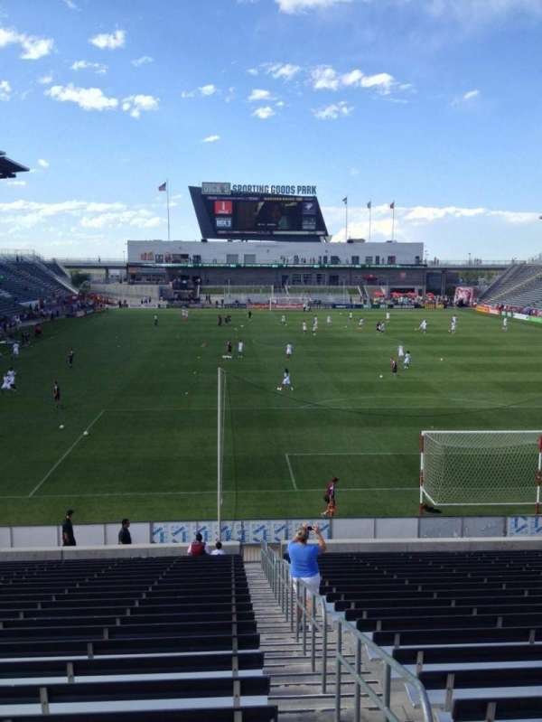Dick's Sporting Goods Park, section: 119, row: 24, seat: 1