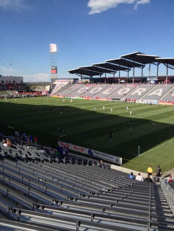 Dick's Sporting Goods Park, section: 123, row: 26, seat: 1