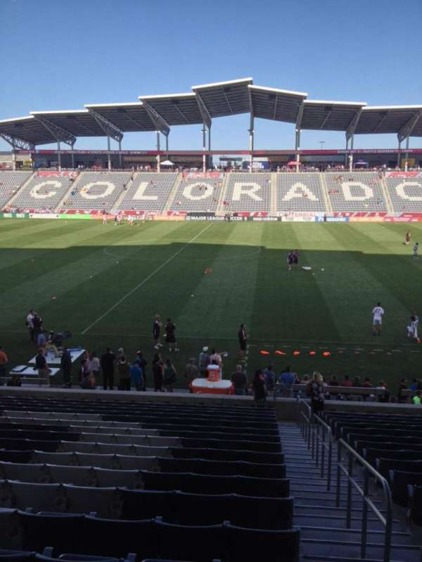Dick's Sporting Goods Park, section: 128, row: 21, seat: 1