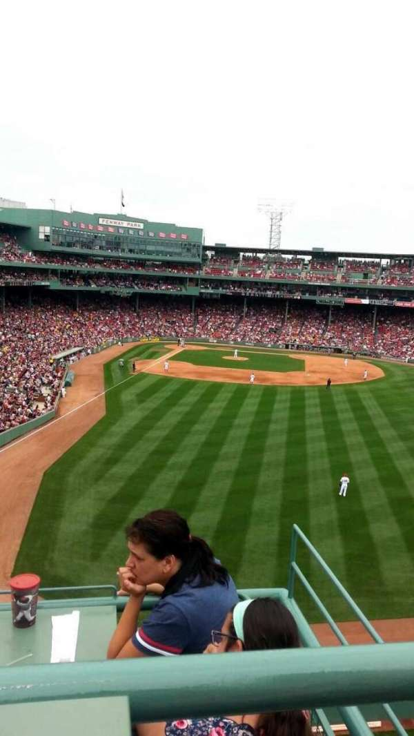 Fenway Park, section: Bud Light Roof Deck, row: 2, seat: 1