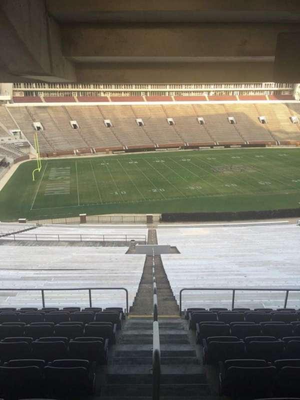 Davis Wade Stadium, section: 111, row: 67, seat: 01