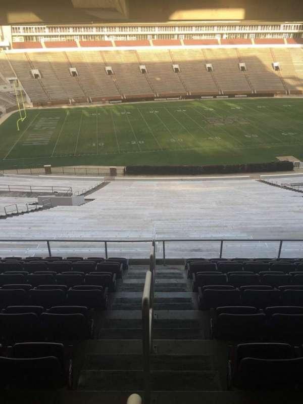 Davis Wade Stadium, section: 110, row: 67, seat: 1