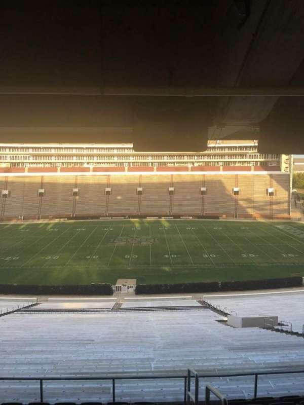 Davis Wade Stadium, section: 107, row: 67, seat: 01