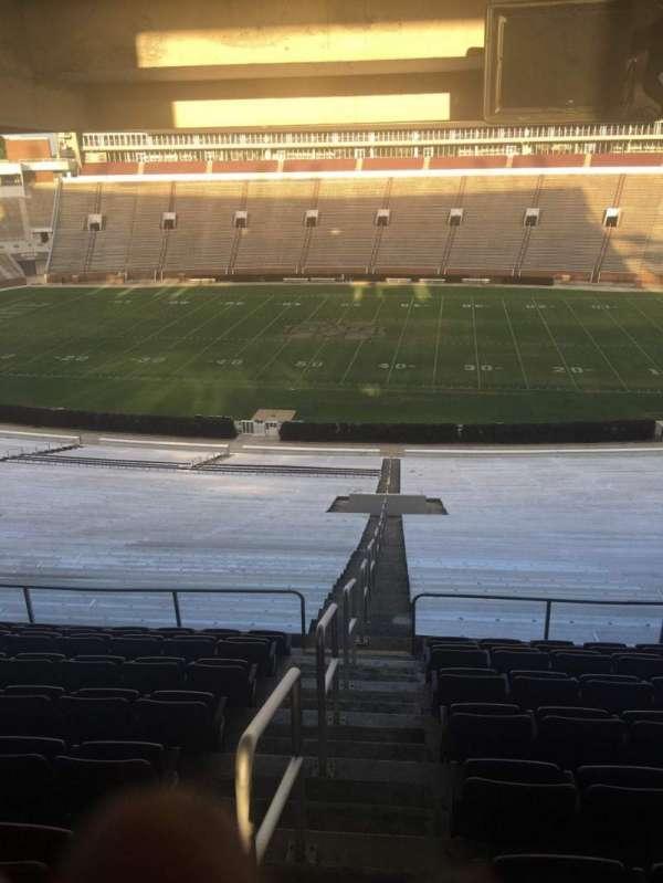 Davis Wade Stadium, section: 106, row: 68, seat: 01