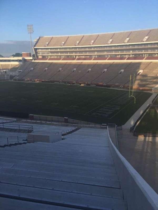 Davis Wade Stadium, section: 101, row: 59, seat: 1
