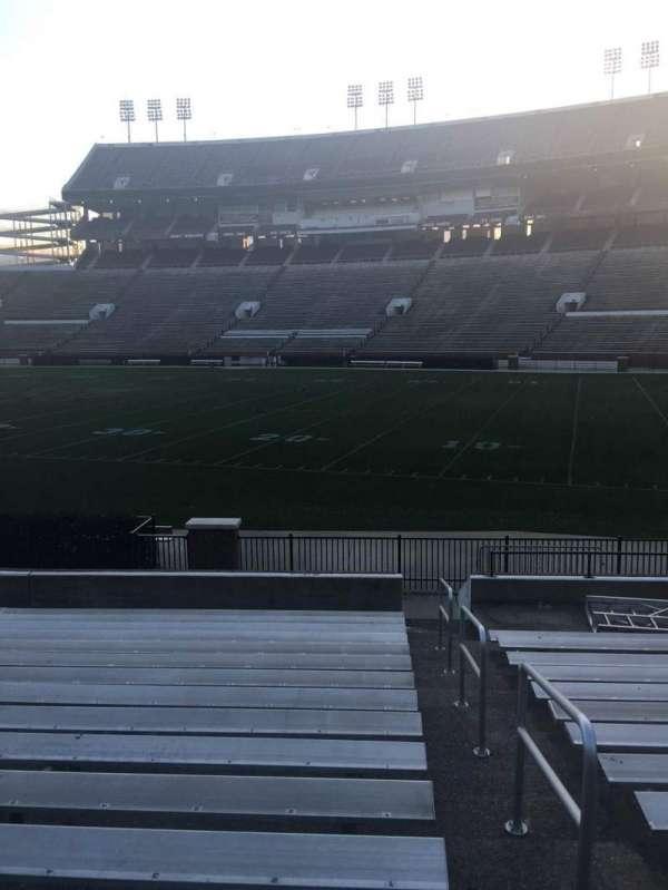 Davis Wade Stadium, section: 18, row: 17, seat: 01