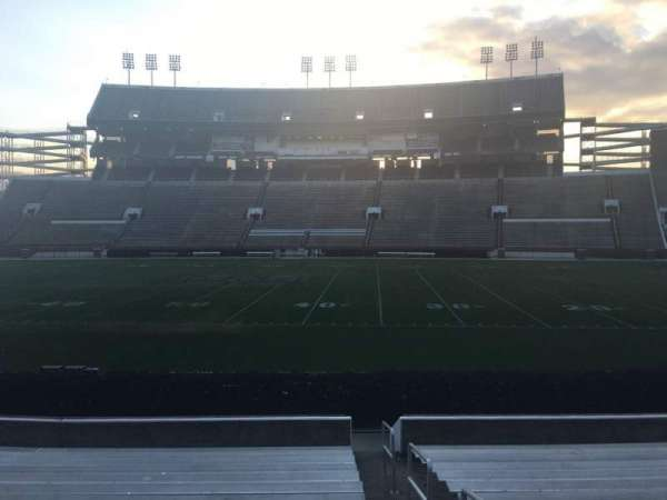 Davis Wade Stadium, section: 20, row: 17, seat: 01