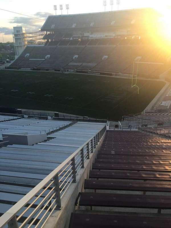 Davis Wade Stadium, section: 22, row: 20, seat: 01