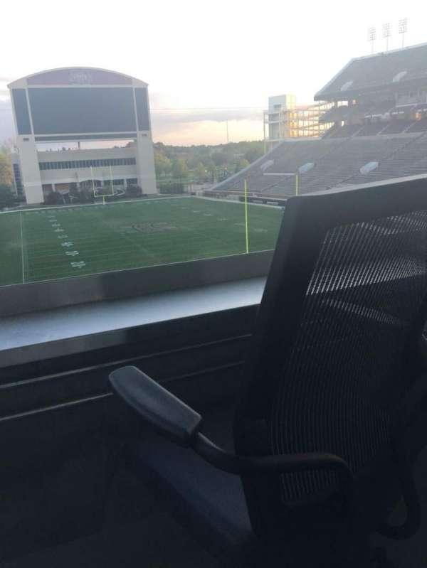 Davis Wade Stadium, section: Loge