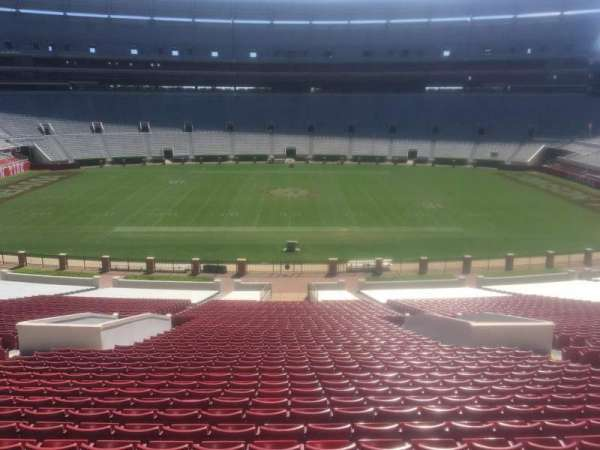 Bryant-Denny Stadium, section: G, row: 58, seat: 01