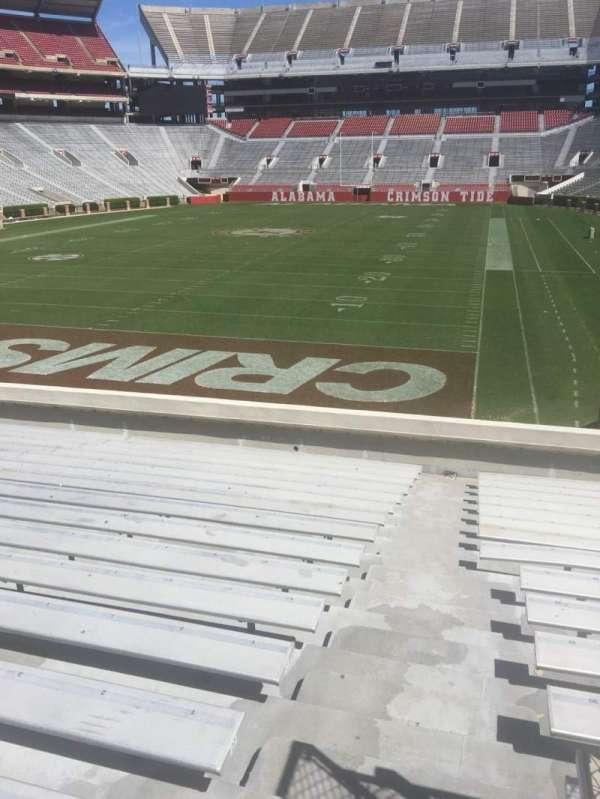 Bryant-Denny Stadium, section: S-2, row: 24, seat: 01