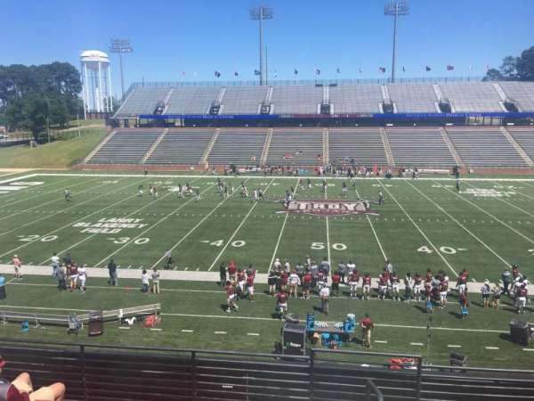 Veterans Memorial Stadium, section: 210, row: 5, seat: 1