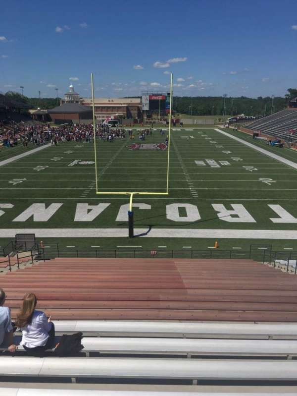 Veterans Memorial Stadium, section: 127, row: 20, seat: 15