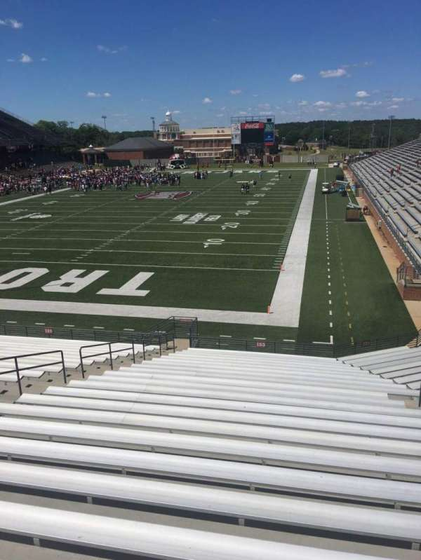 Veterans Memorial Stadium, section: 123, row: 20, seat: 1
