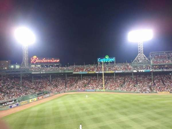 Fenway Park, section: Green Monster 6, row: 2, seat: 6