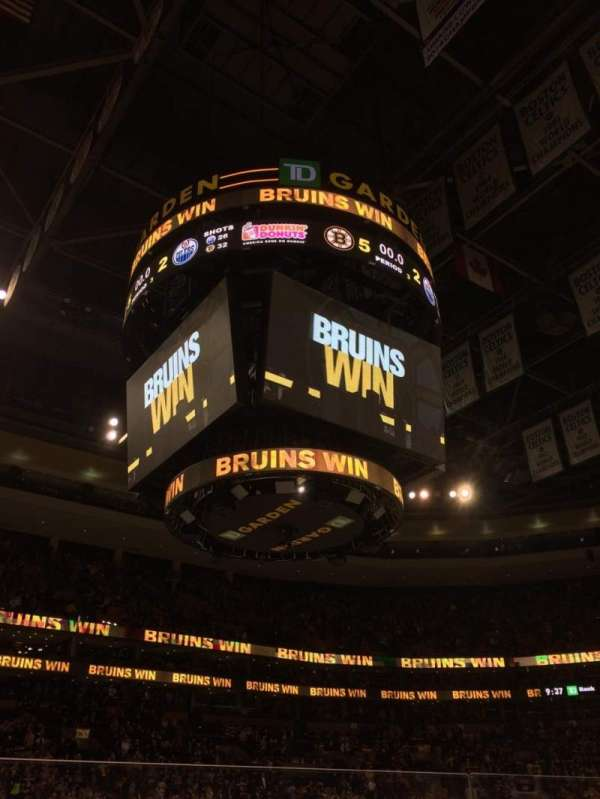 TD Garden, section: Loge 13, row: 4, seat: 10