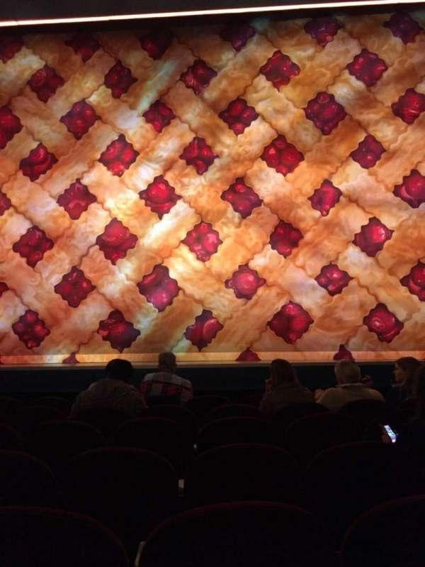 Brooks Atkinson Theatre, section: Orchestra C, row: E, seat: 110