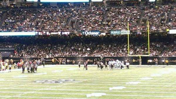 Caesars Superdome, section: 124, row: 20, seat: 24