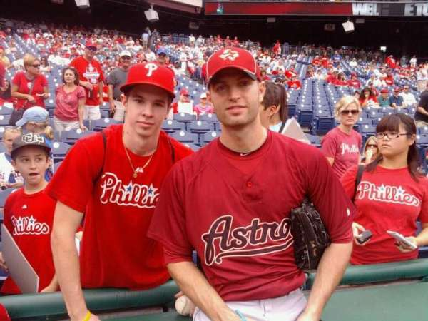 Citizens Bank Park, section: 136, row: 2, seat: 12