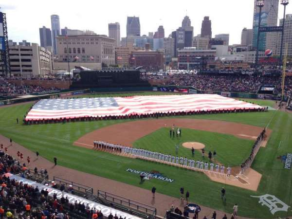 Comerica Park, section: 331, row: A, seat: 1
