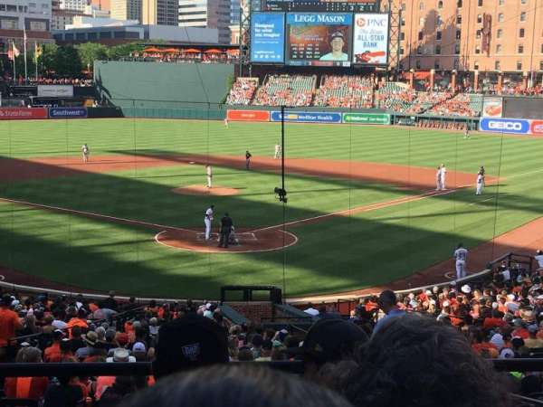 Oriole Park at Camden Yards, section: 37, row: 4, seat: 4