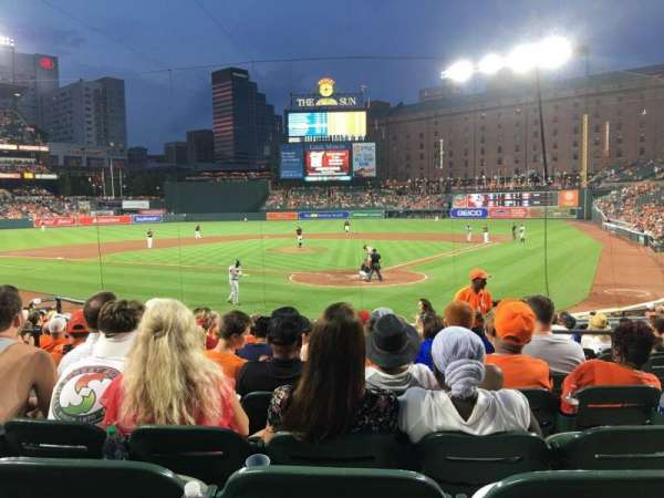 Oriole Park at Camden Yards, section: 40, row: 16, seat: 4